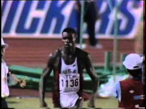 Mike Powell - World Long Jump Record 1991