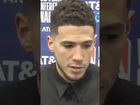 Devin Booker on how Kobe and CP3 helped him in Game 1 Shorts