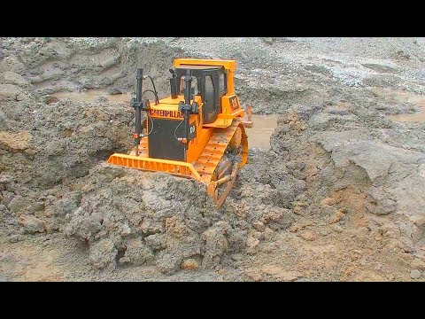 Rc Construction Equipment At Work! Heavy Rc
