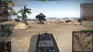 AMX CDC w World of Tanks - Sand River na słabszej załodze