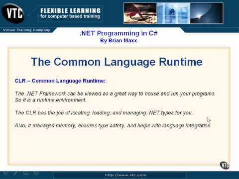 Lesson2 The Common Language Runtime