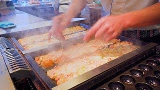 築地銀だこ 焼き方が凄いたこ焼き職人【職人芸2020】The Art of Takoyaki Making! GINDACO God