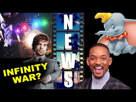 Avengers Infinity War to cast Peter Dinklage? Will Smith in Live Action Dumbo for Disney