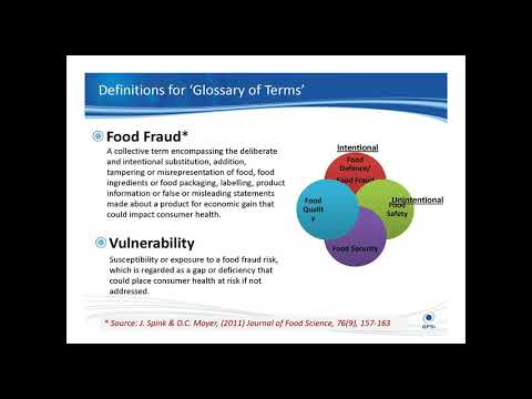 Food Fraud - Know the Pitfalls in Your Supply Chain!