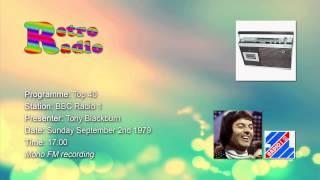 BBC Radio 1 - Top 40 intro - Tony Blackburn - 02 Sep 1979