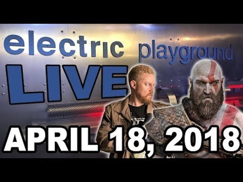 Electric Playground Live! - PS4 Chat with Johnny Millenium! April 18, 2018