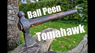 Axe Macht - Schmieden ein Tomahawk aus einem Ball-Peen Hammer