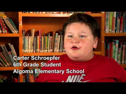 Carter Schroepfer Student Profile (Algoma Elementary School)