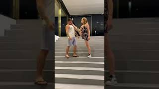 Funny Body Moving Prank On Russian Girls