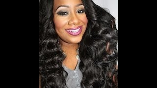 BEAT HAIR!!! Luscious Bombshell Waves | Indian Hair Co. Virgin Indian Hair