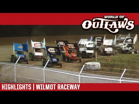 World of Outlaws Craftsman Sprint Cars Wilmot Raceway July 29, 2017  HIGHLIGHTS