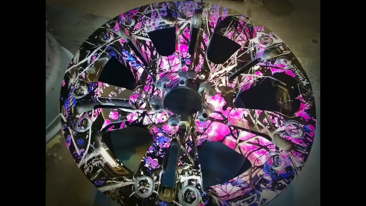 Hydro Dipped Muddy Girl Film On Wheels Youtube