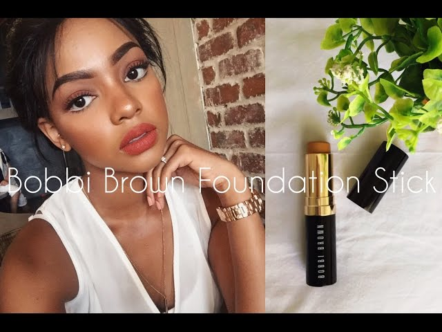 Bobbi Brown Foundation Stick | REVIEW + DEMO | MIHLALI N