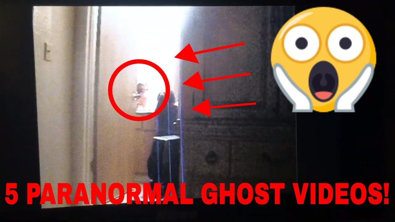 5 Scary Paranormal Ghost Videos YOU'VE NEVER SEEN! 2019