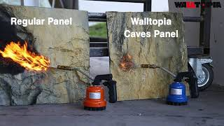 Walltopia Caves Fire Retardant Fiberglass Panel
