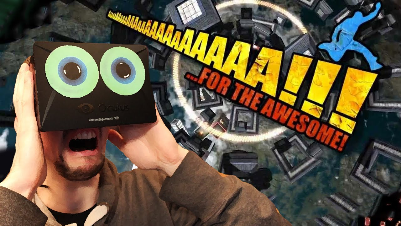 HAPPIEST GAME EVER | AaaaaAAaaaAAAaaAAAAaAAAAA!!! for the Awesome with the Oculus Rift