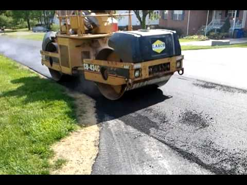 How to Pave a Road with Asphalt