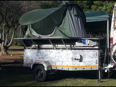 Trailer Tent Diy & Finished And Ready