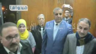بالفيديو محافظ المنيا يفتتح مكتب بريد سمالوط البلد