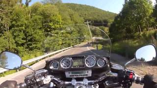 Riding My Kawasaki Vulcan Voyager - Grand Canyon PA Ride - Part 2