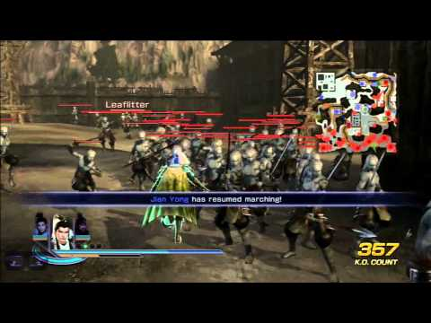 Warriors Orochi 3 - Character Breakdown (Liu Bei)