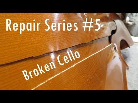 Repair Series #5 - Broken Cello