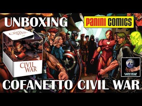 UNBOXING Marvel Omnibus Civil War Cofanetto - Panini Comics - Il Mondo Virtuale