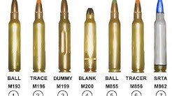 A quick hit on various types of 5.56x45 Ammunition