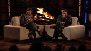 Lopez Tonight - Ashton Kutcher Interview - Reminisce About Simpler Times - Part 3 of 3 thumbnail