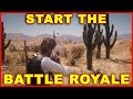 Red Dead Online: How to Play Battle Royale (Make it Count)