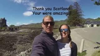 West Coast of Scotland road trip 2016