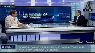 Exministro Alonso Segura habla de la obra del aeropuerto de Chinchero y las políticas económicas