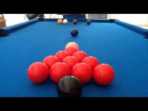 How To Set Up Snooker Balls YouTube - How to set up a pool table