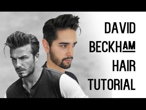 David Beckham Inspired Hair Tutorial Mens Hair Tutorial - Beckham hairstyle 2015 tutorial