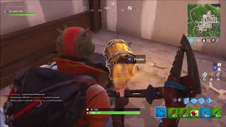 SPOT of hidden secret safes 'Fortnite'