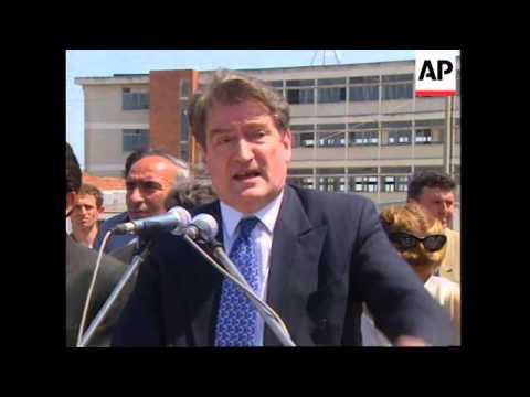 ALBANIA: PRESIDENT BERISHA TO PRESS AHEAD WITH ELECTION LAW