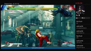 SUPER TUESDAY STREET FIGHTER V Battle lounge