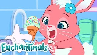 Enchantimals 💜LIVE! 💜ICE CREAM MAYHEM!🍦Full Episodes 💜 Cartoons For Kids