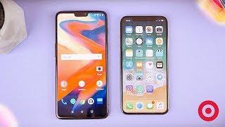 iPhone X против Oneplus 6. КТО КРУЧЕ?