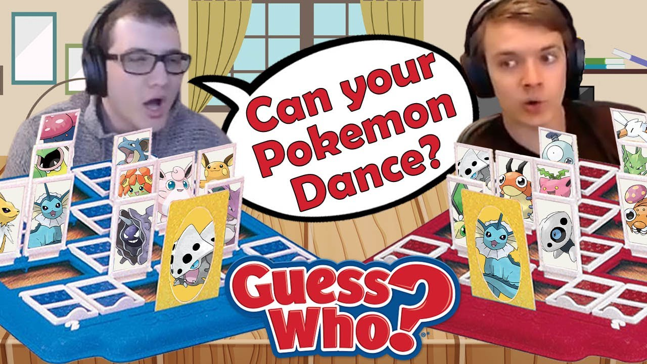 Can Your Pokémon Dance? Guess Who Race with adef!