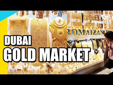 GOLD MARKET IN DUBAI / GOLD SOUK DEIRA DUBAI 2020 / CHEAP GOLD IN DUBAI / DUBAI CITY OF GOLD