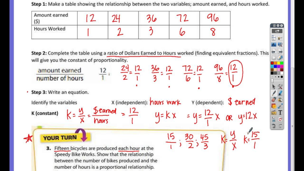 worksheet Worksheets On Proportional Relationships all grade worksheets proportional and nonproportional relationships worksheet notes lesson 3 1 representing relationsh