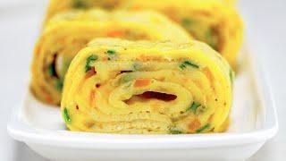Японский омлет «Тамаго-яки». Рецепт от Всегда Вкусно!