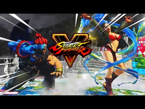 KNOCK HER DOWN A TIER: Akuma - Street Fighter 5 Online Matches