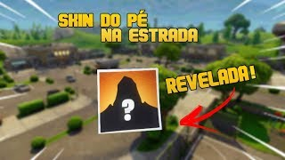 THE POSSIBLE SKIN OF THE FOOT ON THE ROAD, REVEALED??? (THEORY)-Fortnite Battle (EN: 2)