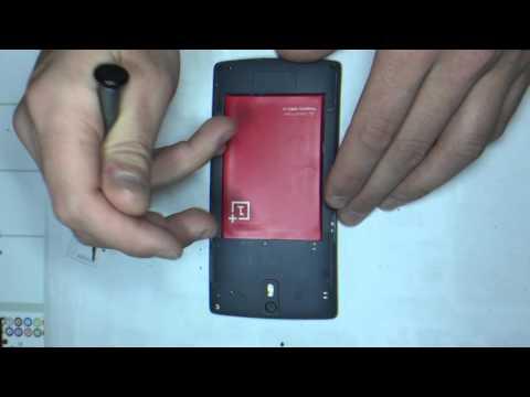 Tuto : changement d'écran (vitre tactile + afficheur/LCD) OnePlus One