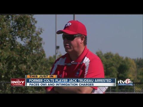 Former Colts QB arrested