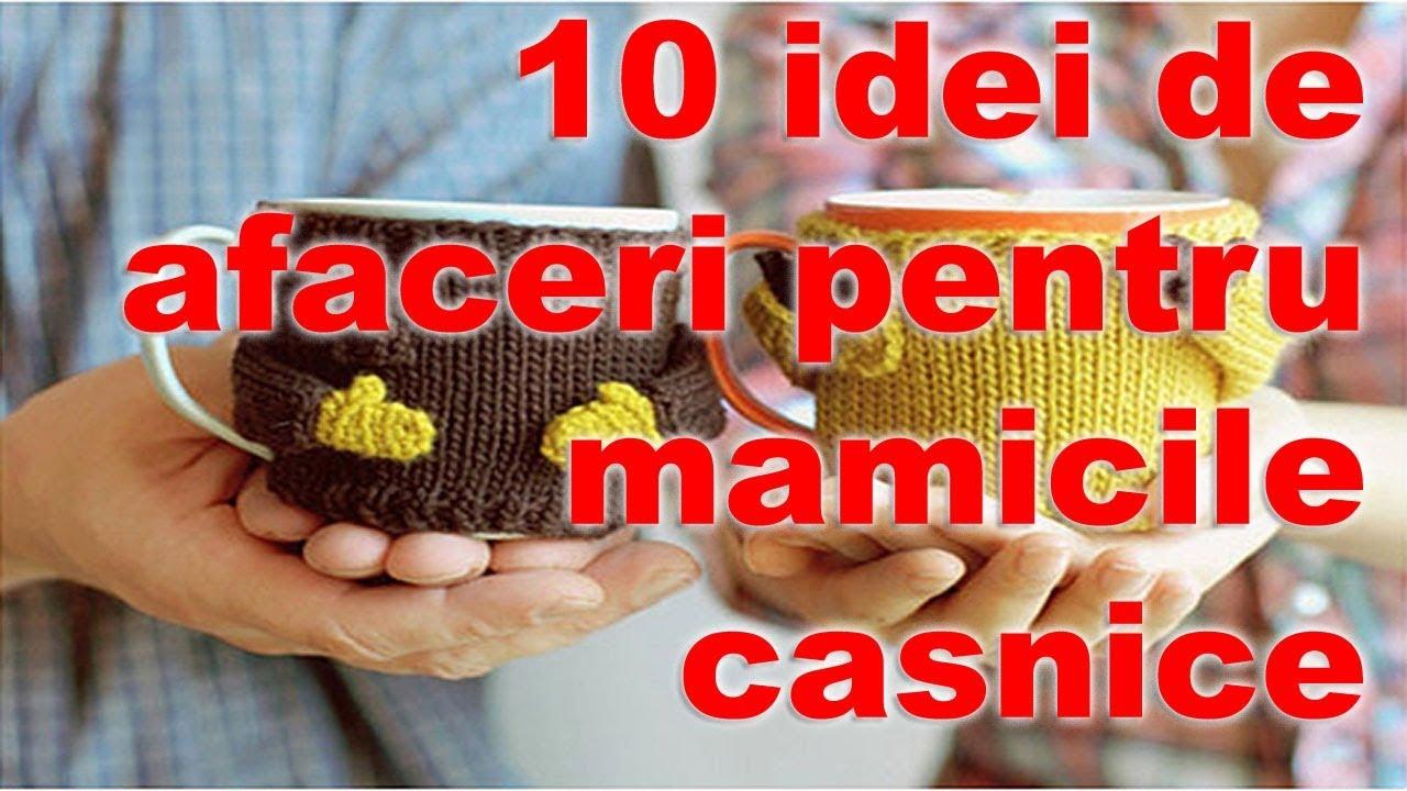 Afaceri La Domiciliu: Top 10 Idei Care Aduc Profit Rapid (I)