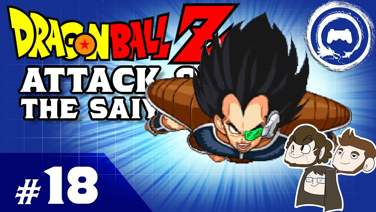Dragon Ball Z Attack of the Saiyans Part 18   TFS Plays - YouTube