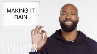 NBA Legend Baron Davis Teaches You Basketball Slang | Vanity Fair